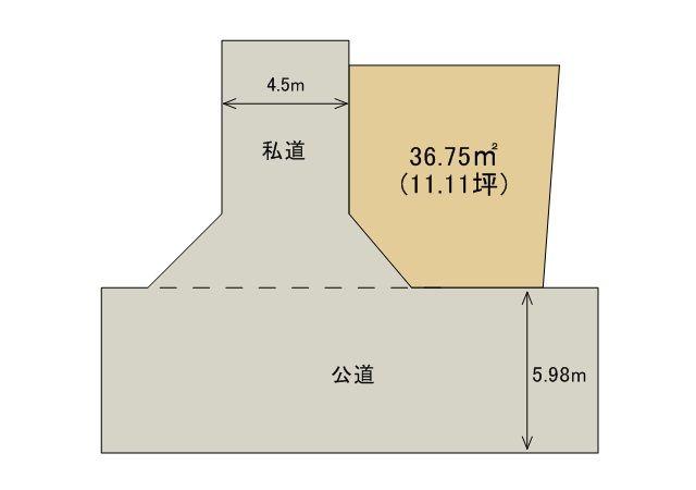 土地 略図