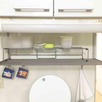 「捨て活28日目」キッチンにS字フック