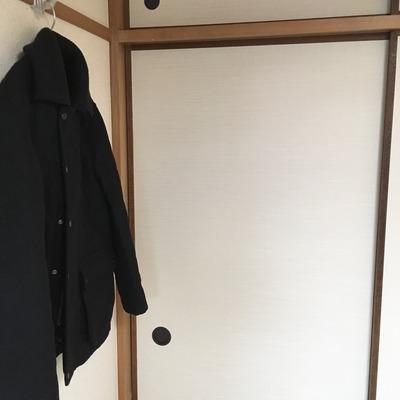 【収納】押入れしかない我が家のコートハンガー事情・2 / 夫がコートを買ってきた