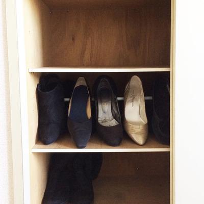 ミニマリストになりたい母 / 靴を捨てる・1