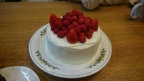 ベリーミックスショートケーキ