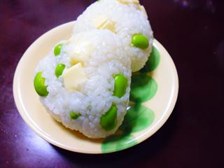 枝豆×チーズ(オリーブ)