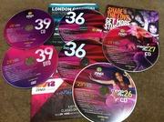 Los CDs de Zumba