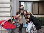 con Kumi y Ricchan