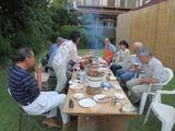 2014_09_14 石田邸での炉端焼き