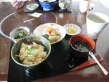 タケノコ飯定食
