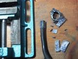 (4)金鋸で切断