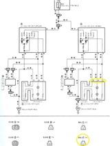 シートヒーター回路図