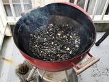 (1)パエリャ鍋の砂利石