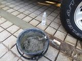 加水後の粘り度合