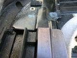 (5)助手席側 カバーの反りと隙間
