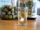 原酒の梅酒