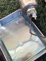 (3)バットに排油