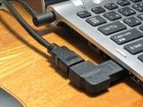 L型HDMIプラグ