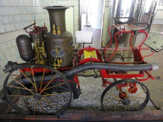 1860年イギリス製蒸気消防馬車