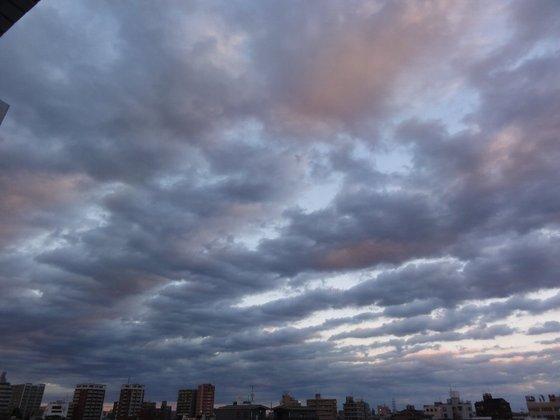 11月の夕焼け