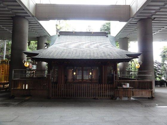 五反田、雉子神社