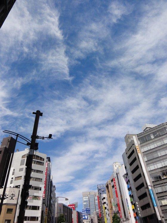 神田、秋葉原の空
