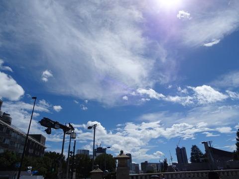明治神宮前の空