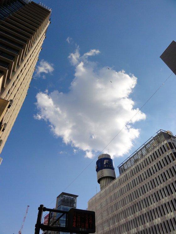 有楽町、浜松町の空