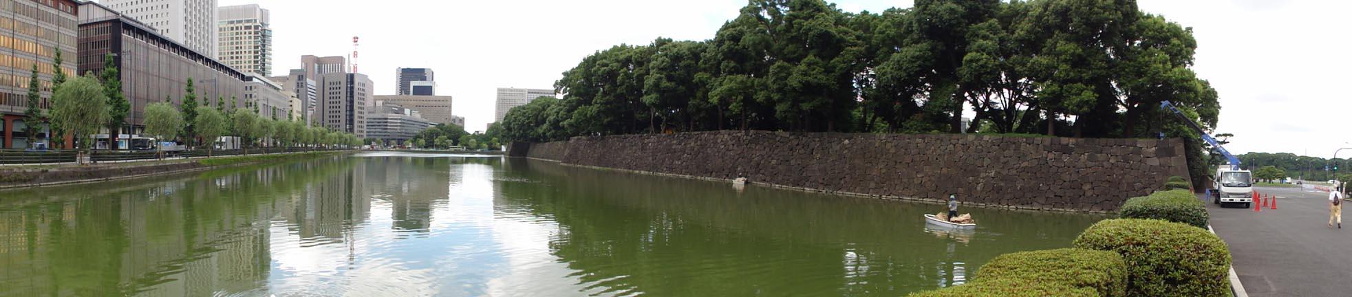 皇居外苑前、有楽町、羽田空港