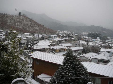 宮崎県の上米良村からです。