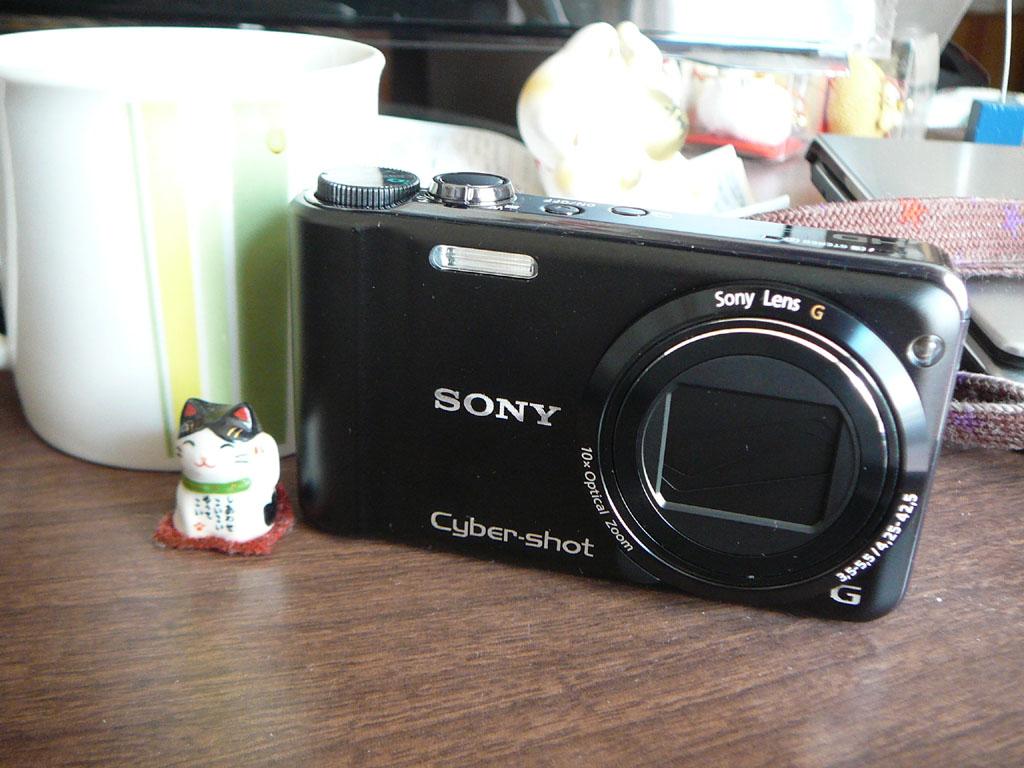 SONYのsyber-shot DSC-HX5Vおもしろいです!