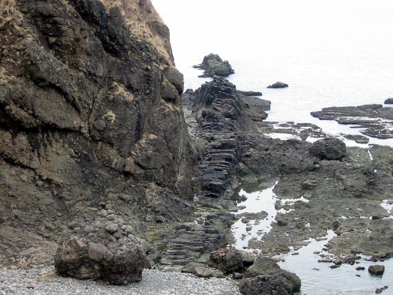 雷電岬のDyke