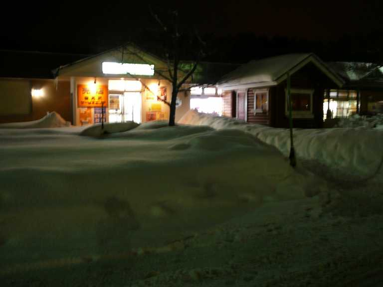 旭川は雪が多かった