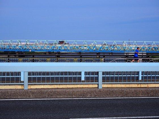 千住新橋から南は橋だらけ