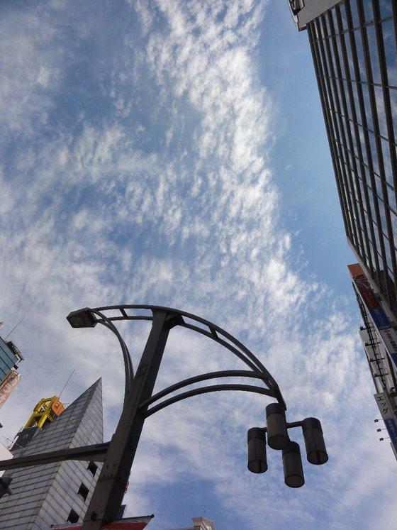 上野、秋葉原の空