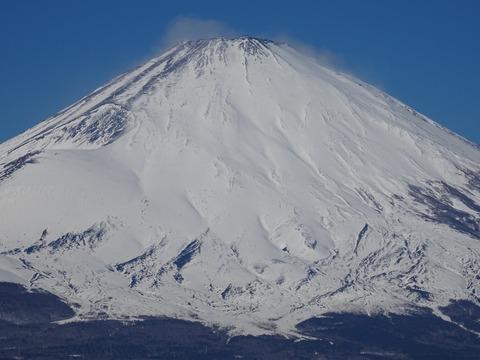 箱根乙女峠から富士山
