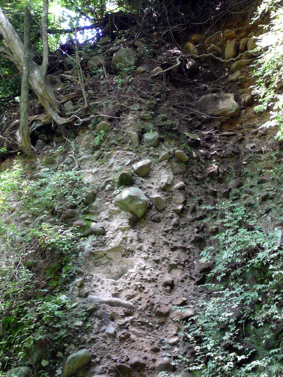 火山泥流のたぐい