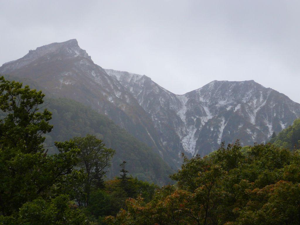 大雪山初雪
