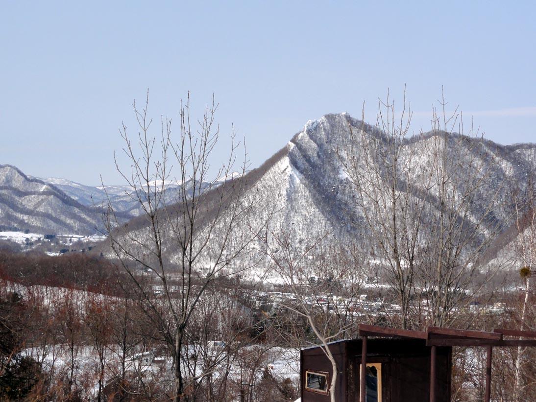 札幌の観音岩山(八剣山)