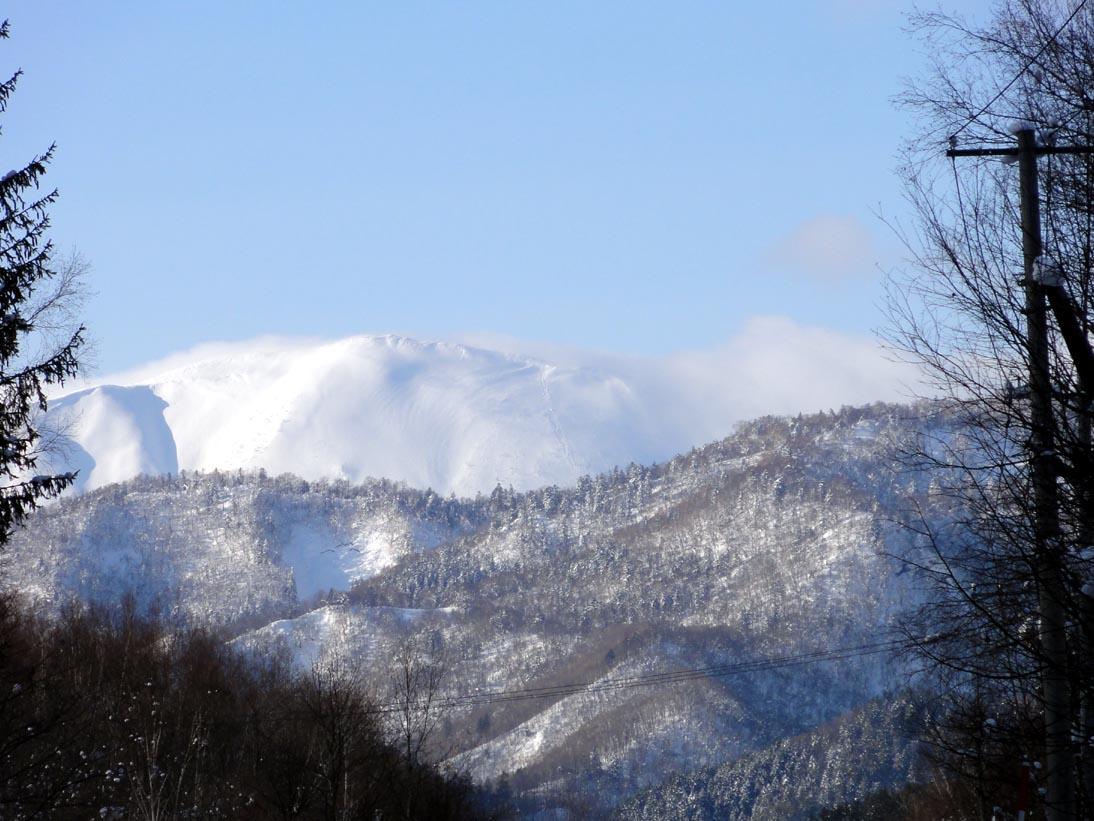 定山渓は久々に晴れました