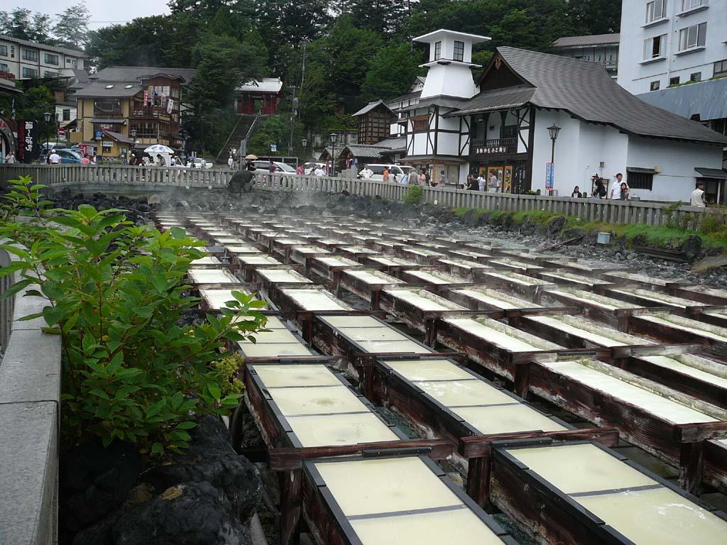 今日は草津温泉に行ってきました。