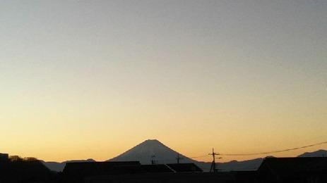2017元旦 富士山2