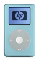 HP iPod Baby Blue