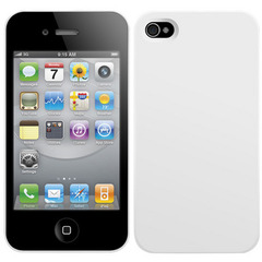 SwitchEasy NUDE for iPhone 4 White