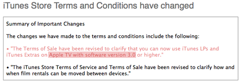 iTunes Store Terms and Conditions 01