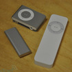 iPod shuffle 3rd Silver vs 1st/2nd 02