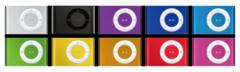 iPod shuffle 10 colors