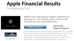 Apple - Quarter 2 - 2011 Financial Results