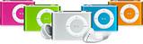 iPod shuffle 音楽を身につける。