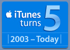 iTunes turns 5