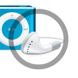iPod shuffle 2nd - New headphone