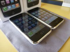 iPhone 3GS vs 3G  保護フィルム比較 2