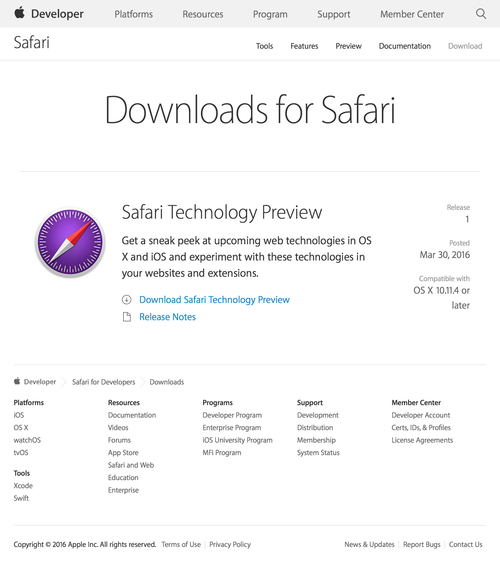 Safari - Downloads - Apple Developer (20160331)