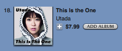 iTunes Store Pop 20090328 AM Utada